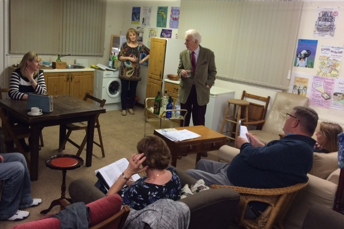 Rehearsals for Absurd Person Singular